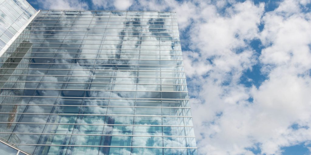 bureau d'entreprise cloud computing