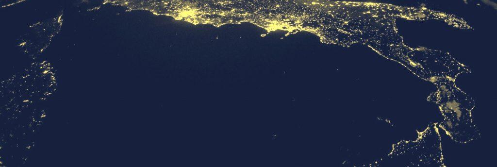 la californie vue de l'espace